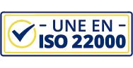 Steel drums with UNE EN ISO 22000 certification